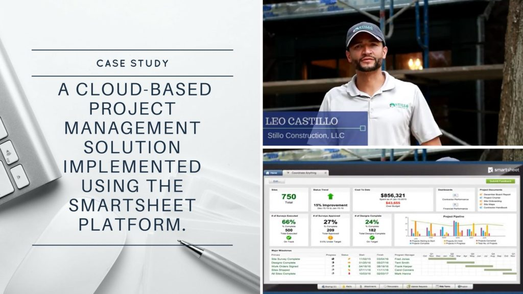 Case Study: Project Management and Work Automation Solution with Smartsheet