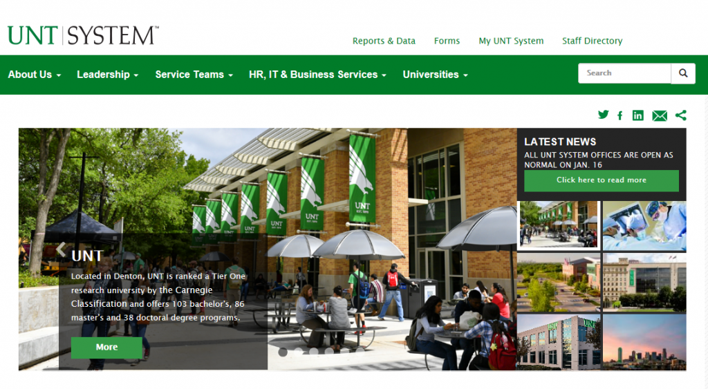 "Optimum awarded the ""Marketing Services"" contract with University of North Texas System"