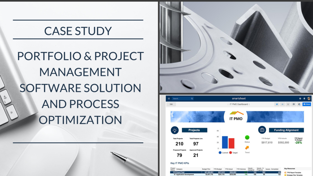 Case Study: Machinery Manufacturer automates PMO processes and projects with Smartsheet