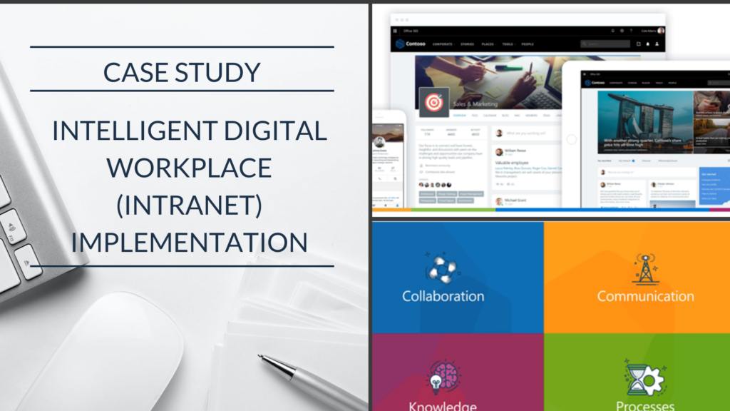 Case Study: An Engineering firm enhances employee engagement and collaboration through an intelligent Intranet