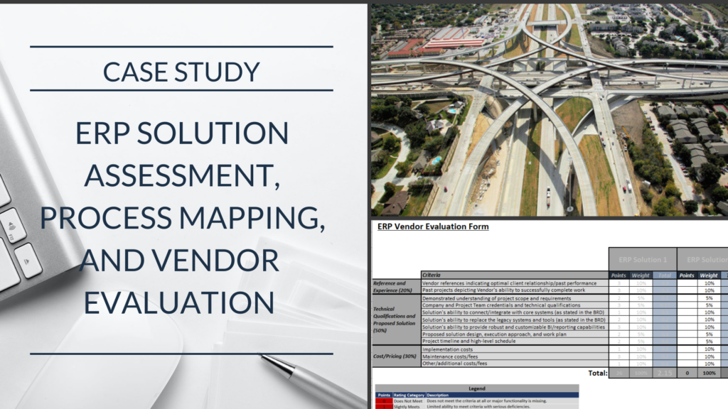 Case Study: Engineering and Construction Company Evaluates and Selects the Right ERP System for Their Business Needs and Processes