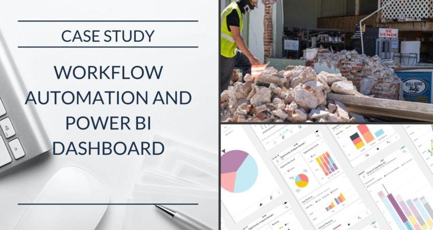 Emergency Response Workflow Automation Power BI Optimum Consulting