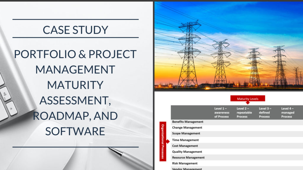 Case Study: Public Utilities Company Enhancing Portfolio Project Management Utilizing Maturity Model and Road-map