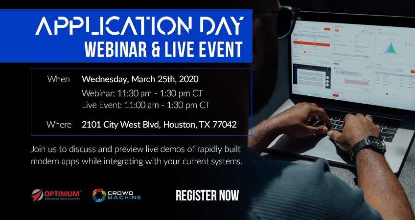 Webinar: Application Day – Rapid Software Development & Integration Workshop