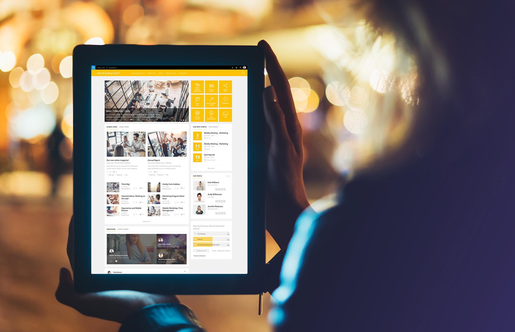 Valo Office 365 Intranet