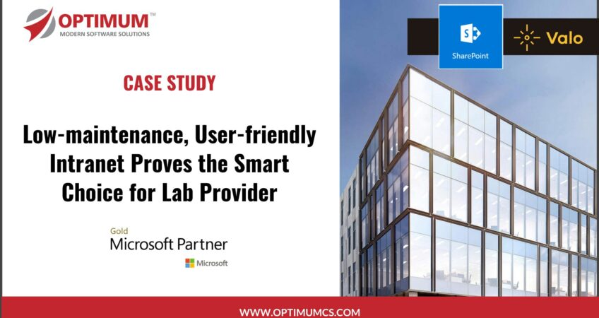 SharePoint Office 365 Intranet Development for Healthcare Consulting