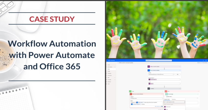 School Process Automation with Power App and Flow Office 365